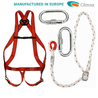 Climax Full Body Safety Harness European Manufacture Fall Arrest Kit