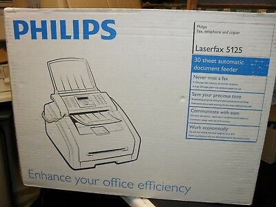 Philips Laserfax 5125 & spare toners