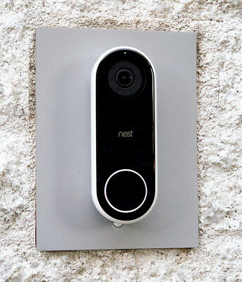 Installation Adapter Plate for Nest Hello Video Doorbell, 13 Colors