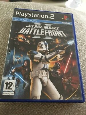 Star Wars Battlefront (PS2) VideoGames - Case Only - No Game Or Manual