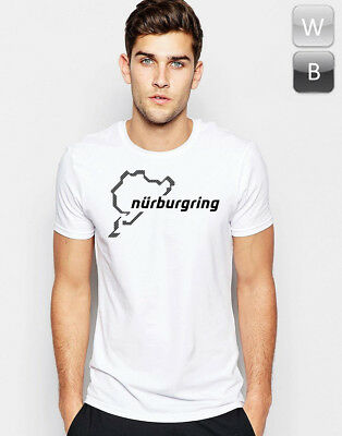 Nurburgring T-shirt Race Track Car Motorcycle Racing Sport Gift Graphic Unisex T