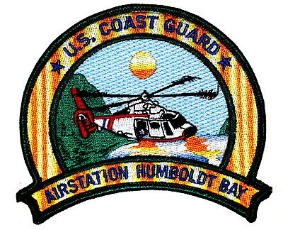 US COAST GUARD - AIRSTATION HUMBOLDT BAY CALIFORNIA CA MILITARY Police Patch ~