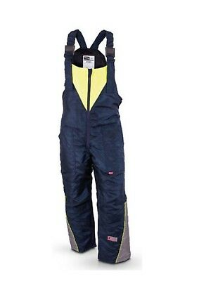 Flexitog X2 4S Insulated Coldstore Thermal Salopette Reflective Navy Size Large