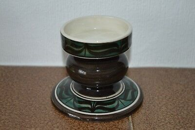 Jersey pottery candle stick