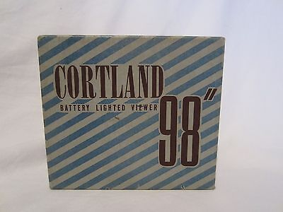 Cortland Battery Lighted Picture Viewer with Box and Instructions