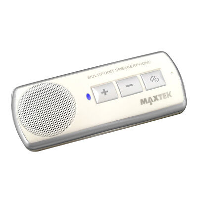 Wireless Bluetooth Car Kit Handsfree Speaker Phone Visor Clip for Android iPhone
