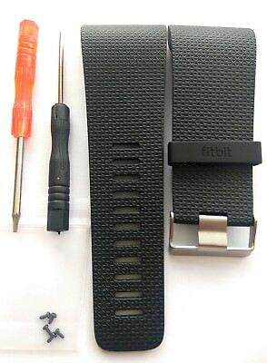 Fitbit Surge Replacement strap large Black