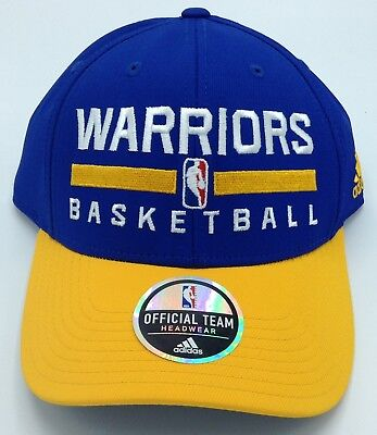 18d82c869 NBA Golden State Warriors Adidas Adult Structured Adjustable Fit Cap Hat  NEW!