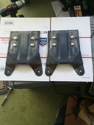 New pair code 3 mx7000 and excalibur lightbar domes red wblackouts pair of code 3 mx7000 excalibur lightbar mounting feet mozeypictures Choice Image