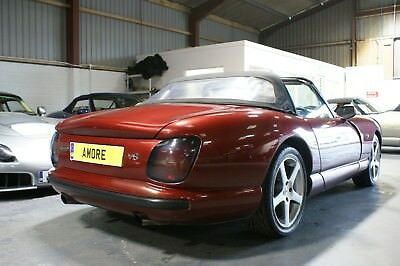 Cherry Red TVR Chimaera 400  with PAS Mechanically sorted lovely sports exhaust.