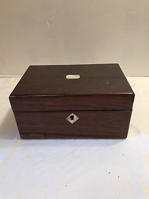 19Th Century Rosewood Letter Box