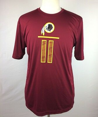 NFL Mens T-Shirt Tee Size L Washington Redskins DeSean Jackson #11 Team Apparel