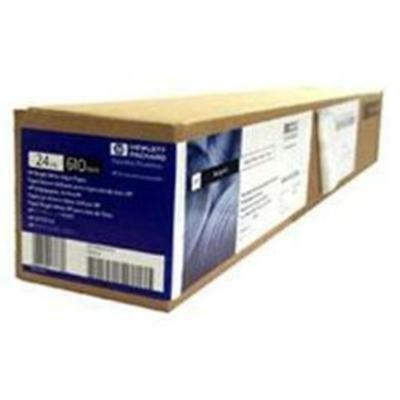 HP Bright White InkJet 610mm x 45M Roll 90GSM For everyday blk and colour line d