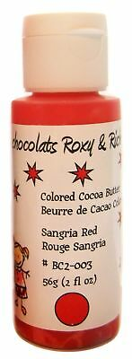 Cocoa Butter -  2 oz - Sangria Red