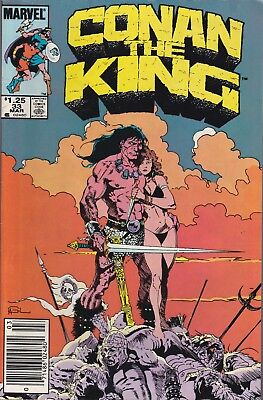 Conan the King #33 Day Of The Wrath (Mar 1986, Marvel Comics)***VG+