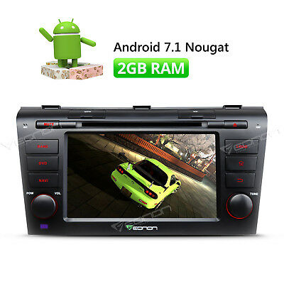 For Mazda 3 Car Stereo Radio DVD GPS Android 7.1 Quad Core DVR Bluetooth Wifi W
