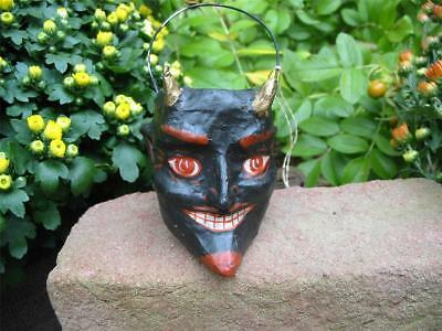 Cody Foster Small Black Devil Jack O'lantern Bucket Container Halloween New