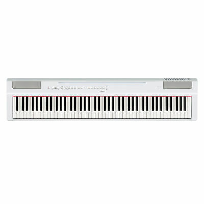 Yamaha P125 88-Key Weighted Action Digital Piano w/ Power Supply & Sustain Pedal
