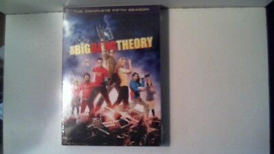 New Sealed The Big Bang Theory: The Complete Fifth Season DVD 2012