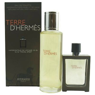 Hermès Terre d'Hermes SET 155 ml (30ml EDT Spray + 125ml EDT refill)