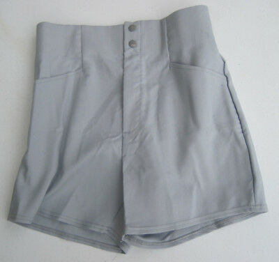 Vintage 1980's Letrell Sports Coaches Shorts (Gray) Mens Medium Made In USA (New
