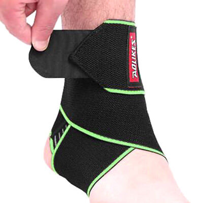 Fabric Ankle Support Strap Basketball Soccer Ankle Sleeve Protection Brace