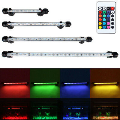 Aquarium Fish Tank LED Light Submersible Waterproof Bar Strip Lamp US Plug New