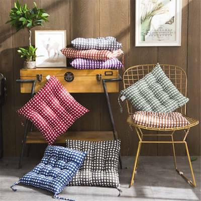 Square Cushion Seat Pad For Dining Garden Patio Home Kitchen Office Chair Picnic