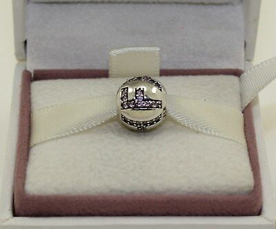 Authentic Pandora Surrounded By Faith, Pink Cz, 791417Pcz  #709