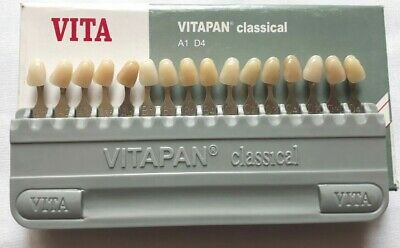 Porcelain Dental Shade Guide VITAPAN classical 16 Colours FIRST COPY FS