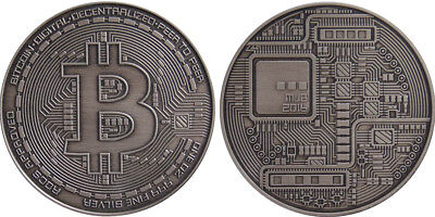 Physical Bitcoin .999 Fine Silver Crypto MJB Monetary Metals Michael Bruce Coin