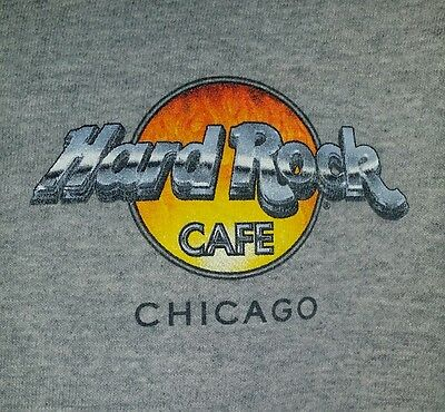 Hard Rock Cafe Chicago 2000 The Evolution Of Rock T-Shirt Size See Measurements.