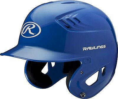 (Large, Royal) - Rawlings Clear Coat Alpha Sized Batting Helmet. Free Delivery