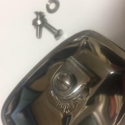 Stainless Steel Screw & Solid Cup Washer for Stadium Mirrors Lambretta Vespa