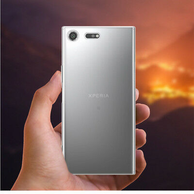 Slim Transparent Clear Soft TPU Silicone Case Cover For Sony Xperia XZ Premium