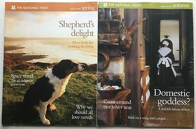 The National Trust Magazine Number 100 Autumn 2003 & Number 101 Spring 2004