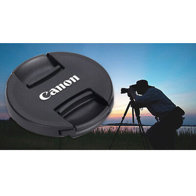 49/52/55/58/62/67/72/77/82 MM Camera Front Lens Cap for Canon