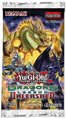 "Yu-Gi-Oh - Boosters - Dragons Of Legend 3 ""Unleashed"" - Anlgais"