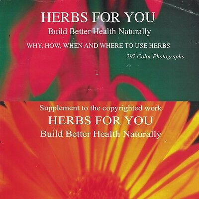 Both Herbs For You Books by A. B. Howard in searchable PDF format DVD