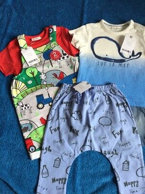 Next  Brand New With Tags Baby Boys Clothes Bundle Age 6-9 Months