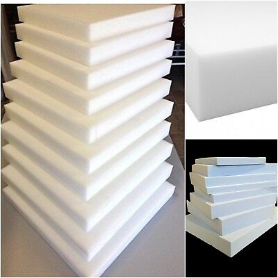 Upholstery foam cushions sheets High density foam seat pads cut any size