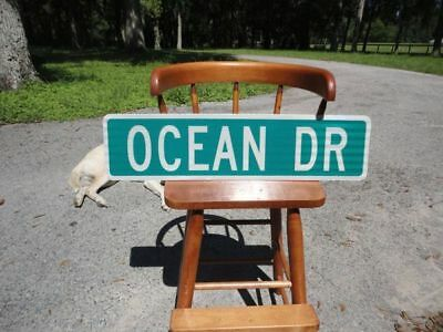New Custom or Ocean Dr Real DOT reflective street sign Great for bar man cave