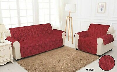 STRETCH SOFA & ARM CHAIR SLIP COVERS 1,2,3 Seater Sofa Cover Pet Protector Throw