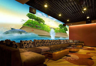 Color Of  Forest 3D Full Wall Mural Photo Wallpaper Printing Home Kids Decor