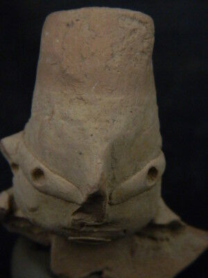 Ancient Indus Valley C.2500 BC Teracotta Head ###TR922###