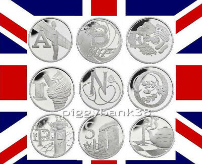 Direct from Royal Mint Uncirculated A - Z 10p Ten Pence 2018 Early Strike Coins