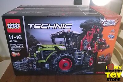 Retired - Lego 42054 Technic Claas Xerion 5000 Trac Vc (2016) - Nisb
