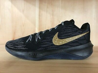 NIKE ZOOM EVIDENCE II BLACK METALLIC GOLD GREY TRAINING MENS SZ 8-13 908976-090