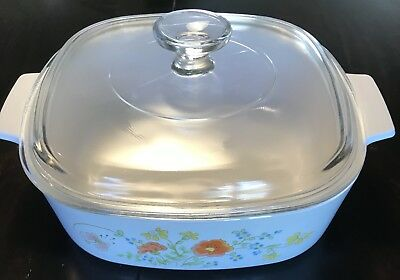 Corning Ware Casserole Dish With Lid 2 Liter 11 00 Picclick