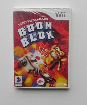 Boom Blox (Nintendo Wii, 2008)  BRAND NEW     FACTORY SEALED    FAST SHIPPING !!